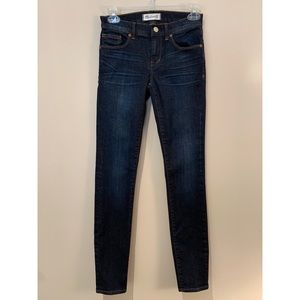 Madewell Super Skinny Dark Wash Jeans